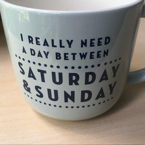 Threshold Dining - Threshold Saturday & Sunday mug